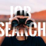 Job hunting is begonnen